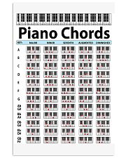 Piano Chords Pianist Music Theory Funny Musician 16x24 Poster front