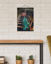 Star Festival - Tanabata 12x16 Black Hanging Canvas aos-hanging-canvas-12x16-lifestyle-front-03