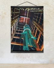 Star Festival - Tanabata 12x16 Black Hanging Canvas aos-hanging-canvas-12x16-lifestyle-front-12