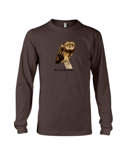 Be Owlsome Short-eared Owl Shirts
