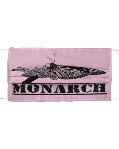 Monarch Butterfly Cloth Face Mask