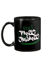 Don't Panic It's Organic Mug back