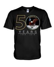 Apollo 11 50Th Anniversary V-Neck T-Shirt thumbnail