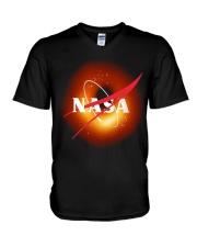black hole V-Neck T-Shirt thumbnail