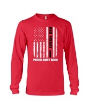 Red Friday - Army mom Long Sleeve Tee front