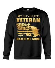 My Favorite veteran Crewneck Sweatshirt thumbnail