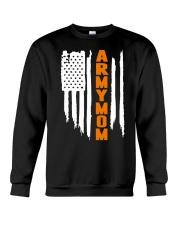 Proud Army Mom - flag Crewneck Sweatshirt thumbnail