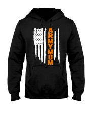 Proud Army Mom - flag Hooded Sweatshirt thumbnail