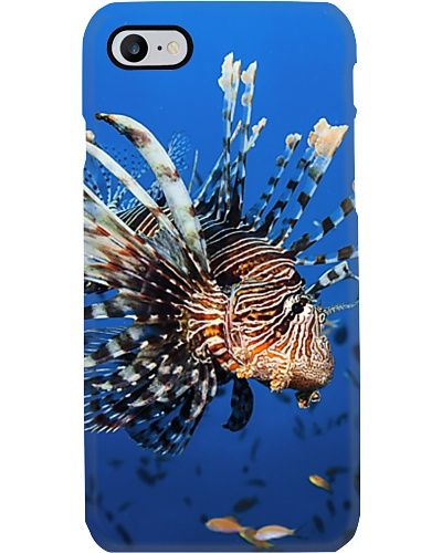 Lion fish printed phone covers