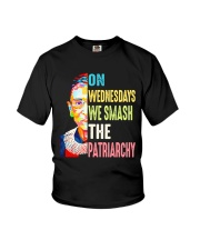 Ruth Bader Ginsburg on Wednesdays T-shirt Youth T-Shirt thumbnail