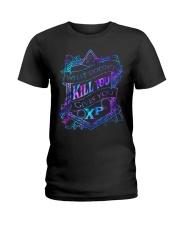 What doesnt kill you gives you xp T-shirt Ladies T-Shirt thumbnail