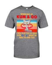 Working at kum T-shirt Classic T-Shirt front