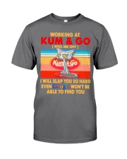 Working at kum T-shirt Premium Fit Mens Tee thumbnail