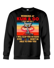 Working at kum T-shirt Crewneck Sweatshirt thumbnail