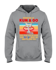 Working at kum T-shirt Hooded Sweatshirt thumbnail