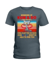 Working at kum T-shirt Ladies T-Shirt thumbnail