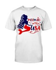 Mermaid in the USA shirt Classic T-Shirt thumbnail