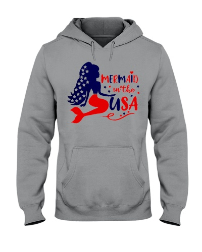 Mermaid in the USA shirt