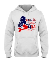 Mermaid in the USA shirt Hooded Sweatshirt thumbnail