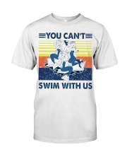Mermaid you can't swim with us vintage shirt Classic T-Shirt thumbnail