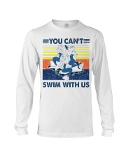 Mermaid you can't swim with us vintage shirt Long Sleeve Tee thumbnail