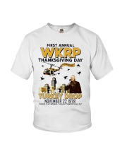 First annual WKRP thanksgiving day T Shirt Youth T-Shirt thumbnail