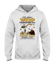 First annual WKRP thanksgiving day T Shirt Hooded Sweatshirt thumbnail