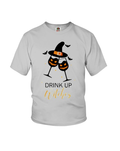 Halloween drink up witches shirt