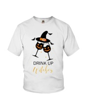 Halloween drink up witches shirt Youth T-Shirt thumbnail