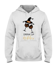 Halloween drink up witches shirt Hooded Sweatshirt thumbnail