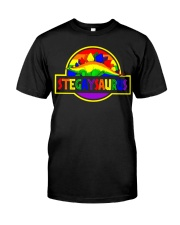 LGBT Stegaysaurus shirt Classic T-Shirt thumbnail