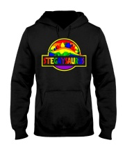 LGBT Stegaysaurus shirt Hooded Sweatshirt thumbnail