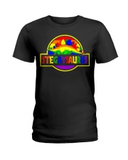 LGBT Stegaysaurus shirt Ladies T-Shirt thumbnail