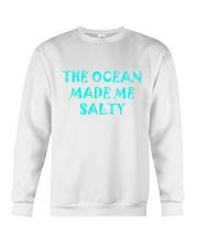 Ocean made me salty Crewneck Sweatshirt thumbnail