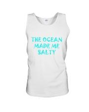 Ocean made me salty Unisex Tank thumbnail