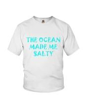 Ocean made me salty Youth T-Shirt thumbnail