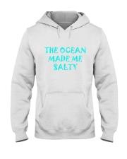 Ocean made me salty Hooded Sweatshirt thumbnail