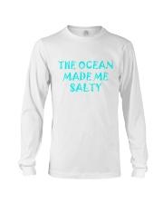 Ocean made me salty Long Sleeve Tee thumbnail
