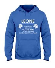 Leone Italy Hooded Sweatshirt front