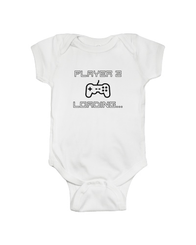 Player 3 Loading Gamer Pregnancy Announcement
