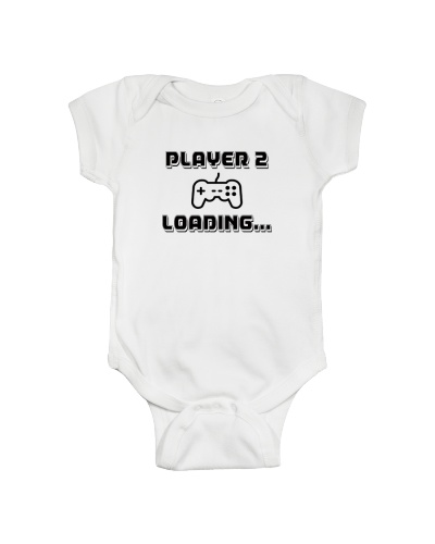 Player 2 Loading Gamer Pregnancy Announcement
