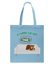 Yummy Cat Nap Tote Bag tile