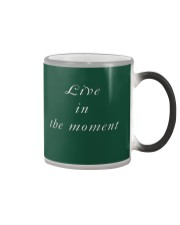 Live in the Moment Color Changing Mug thumbnail
