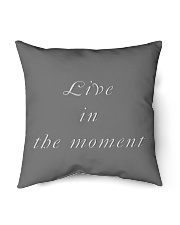 "Live in the Moment Indoor Pillow - 16"" x 16"" thumbnail"