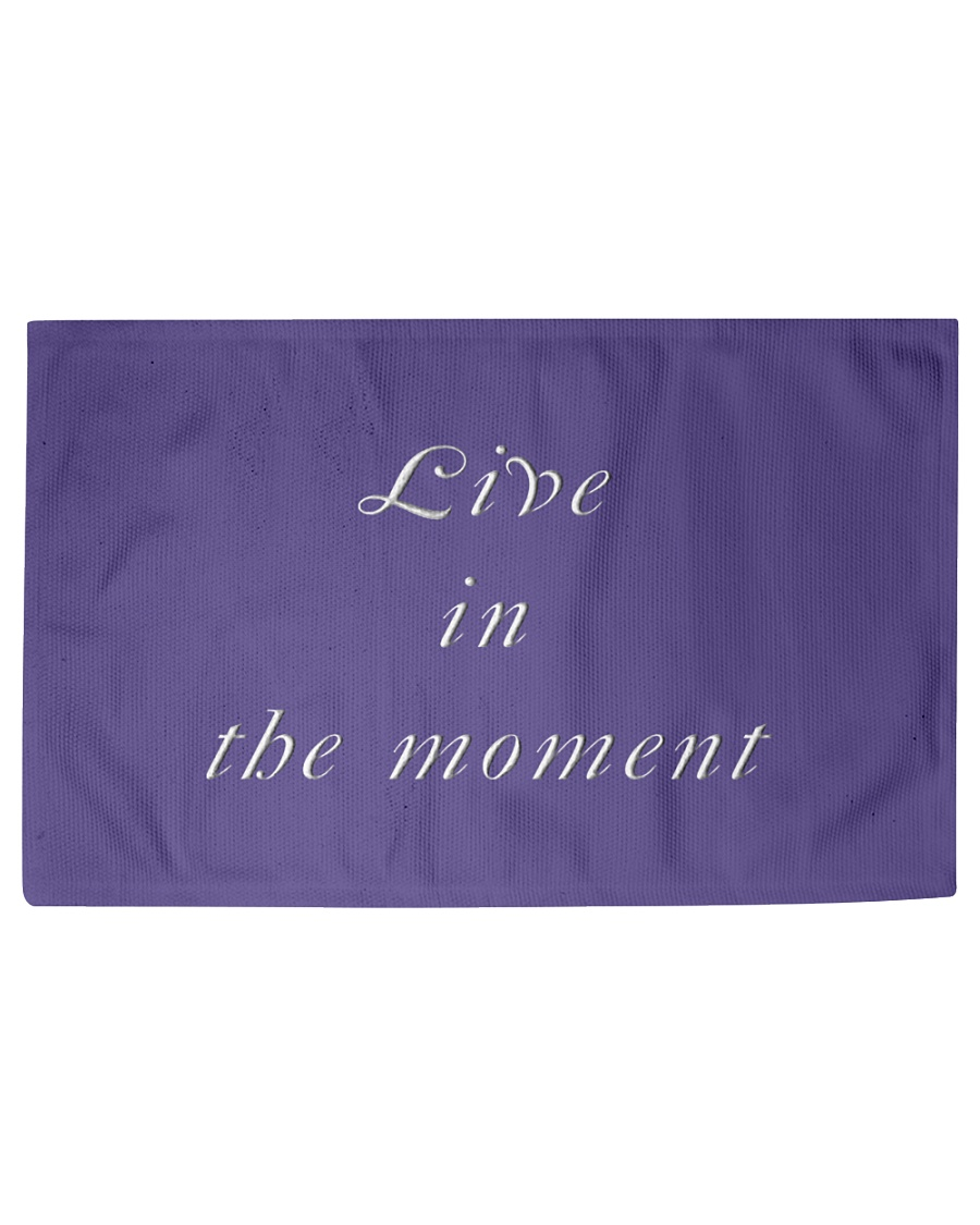 Live in the Moment Woven Rug - 3' x 2'
