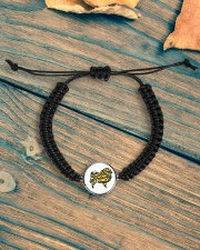 Love Chow Chow Cord Circle Bracelet aos-bracelet-cord-front-lifestyle-4