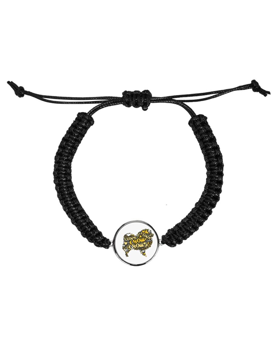 Love Chow Chow Cord Circle Bracelet