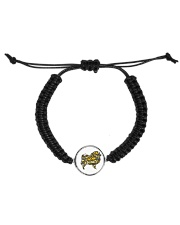 Love Chow Chow Cord Circle Bracelet front