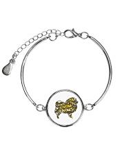 Love Chow Chow Metallic Circle Bracelet thumbnail