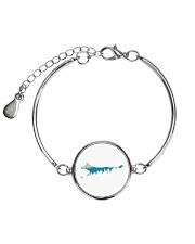 Best Friend Heeler Metallic Circle Bracelet thumbnail